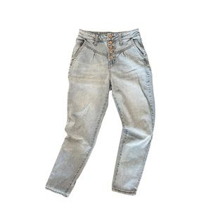 Wild Fable light wash high rise western jeans 0